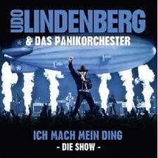 UDO LINDENBERG&DAS PANIK-ORCHESTER-ICH MACH MEIN DING:DIE SHOW 2CD ROCK POP NEU