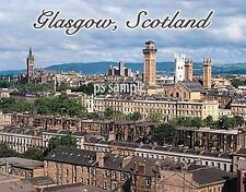 Scotland - GLASGOW - Travel Souvenir Fridge Magnet