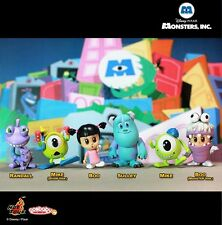 Disney Monsters Inc. Cosbaby Mini Figure Set of 6  Hot Toys UK Seller