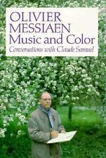 Olivier Messiaen: Music and Color: Conversations with Claude Samuel-ExLibrary