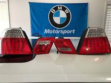 BMW E46 330CI 325CI M3 2001-2006 OEM TAIL LIGHT TRUNK LIGHT LED SET Coupe