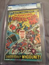 The Amazing Spiderman 155 CGC Graded 9.6 1976 Awesome Book!!!!