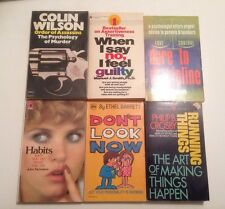 Self-Help/ Psychology Book Lot | The Psychology Of Murder, Habits, And More.