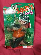 DINOSAURS KNOCK OFF EARL SINCLAIR DINOSAUR'S FAMILY TV SHOW NEW SEALED  RARE