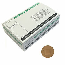 Box of Steroplast Sterostrip Washproof Hypo-Allergenic Tan Spot 2.4cm Plasters