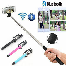 Selfie Stick Telescopic Monopod + Bluetooth Wireless Remote for All Mobile Phone