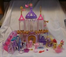 My Little Pony Princess Wedding Castle Canterlot Playset And 7 Ponies Lot plus