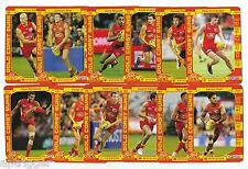 2017 Teamcoach GOLD COAST Team Set (12 Cards)