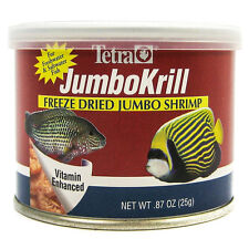 TETRA JUMBO KRILL FREEZE DRIED .87 OZ FISH FOOD JUMBO SHRIMP FREE SHIP IN THE US