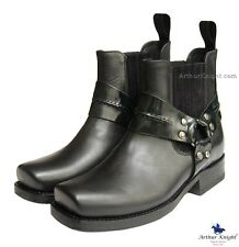 *NEW* SANCHO WOMENS COWGIRL BOOTS 7 Ladies Chelsea Shoes In Black