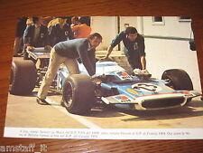 (230)=G.P. F.1 CANADA 1970 JEAN PIERRE BELTOISE MATRA=RITAGLIO=CLIPPING=FOTO=