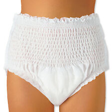 56 Adult Pull Up Incontinence Pants Nappies LARGE Pads.