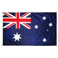 NEW 3X5ft AUSTRALIA FLAG AUSTRALIAN FOOTBALL BANNER satin material 90x150cm
