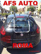 PORTABICI POSTERIORE PER 3 BICI FIAT BRAVO 2010 X BICI UOMO DONNA MADE IN ITALY