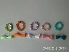 accessories for littlest pet shop 10 items 5 bows and 5 necklaces