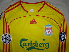 Carragher 23 player issue FORMOTION Liverpool Champions League shirt away jersey