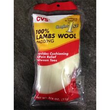 Box of 12 CVS 246626 Lambs Wool Padding For Foot Pain, 11g