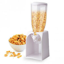 Home Basics 4 Quart 105 oz Dry Food Cereal Oatmeal Nuts Granola Dispenser