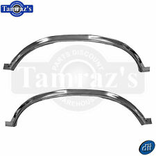 78-87  El Camino / Caballero REAR Wheel Well Bed Opening Chrome Trim Molding PR