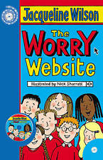 **NOW REDUCED *NEW* The Worry Website by Jacqueline Wilson (with audio 2 CD's)