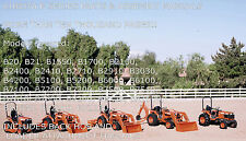 KUBOTA B SERIES MEGA PARTS & ASSEMBLY MANUALS 14000 PAGES  PDF CD