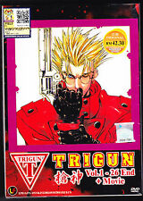 *NEW* TRIGUN *26 EPISODES/MOVIE*DVD*ENGLISH SUBS*ANIME LOT*US SELLER