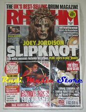 RHYTHM Magazine SEALED Sett  2008 +cd Joey Jordison Kenny Aronoff John Dolmayan*