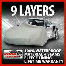 9 Layer Car Cover Indoor Outdoor Waterproof Breathable Layers Fleece Lining 6395
