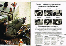 PUBLICITE ADVERTISING 085  1978  La liqueur COINTREAU  ( 2 pages)