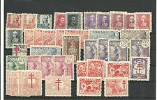 España. Lote de 40 sellos nuevos del Estado Español