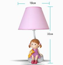 Home Decor Bedroom Kid Little Girl DIY Table Lamp OAUr Bedside Desk Floor Light