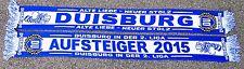 """Duisburg Schal """"ALTER STOLZ"""" Fan Ultra Block Dui Zebra Ultra Wedau + neu +"""