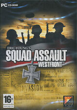 SQUAD ASSAULT WESTFRONT Eric Young's West Front WW2 Strategy PC Game - US Seller
