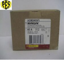 ~NEW~SQUARE D HOMELINE PART # HOM240GFI~ BRAND NEW STOCK~ NIB