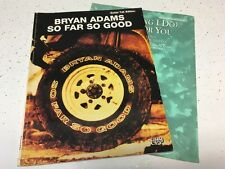 Bryan Adam -So Far So Good Music Guitar Tab Book