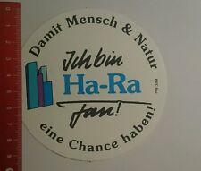 Aufkleber/Sticker: Ich bin Ha Ra Fan damit Mensch & Natur eine (270916137)