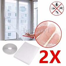 2Pcs Anti-Insect Fly Bug Mosquito Window Door Curtain Net Mesh Screen Protector