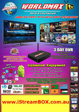 WorldMAX Indian IPTV Box,Hindi,Pakistani,Nepali,Bengali LIVE TV FREE ,NO Fees