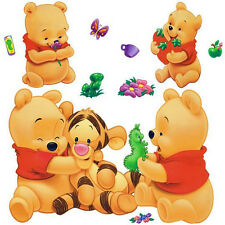 Pooh Bear Removable Wall Decals Sticker Vinyl Mural Room Decor UK