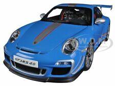 PORSCHE 911 (997) GT3 RS 4.0 BLUE 1/18 DIECAST CAR MODEL BY AUTOART 78145