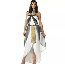 Cleopatra Goddess Roman Egyptian Ladies Halloween Fancy Dress Adult Costume 1601