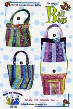 BALI BAGS SEWING PATTERN, FROM COOL CAT CREATIONS NEW