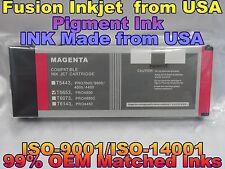 Epson Stylus Pro 4800 Magenta T5653 m Pigment ink cartridge not oem 220ml tank