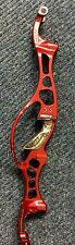 Hoyt Formula Ion-X Olympic Target Recurve Riser Handle 27 Inch Red Right Hand