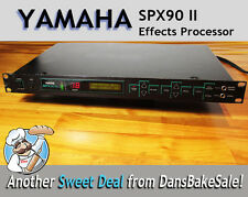 Yamaha SPX90 II Digital Multi Effects Processor - Tested & Works Great!