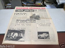 L AUTO JOURNAL N° 64 15 oct 1952 REFERENDUM AUTOMOBILE 1952CHRYSLER SPORT GHIA*