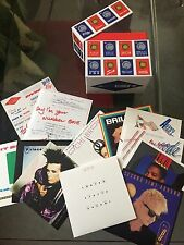 Pwl Cd Lot Inc Box Book, Stickers, Cd Singles Stock Aitken Waterman
