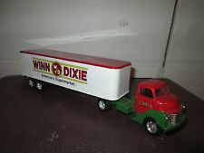 Ertl coe 1950 GMC C60 chevy semi chevy WINN DIXIE 1:43 O Scale