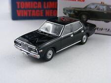 Nissan Datsun Cedric in schwarz,Tomica Tomytec Lim.Vint.Neo Saizensen 01, 1/64