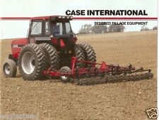 Farm Implement Brochure - Case - 365 415 568 - Seedbed Tillage Equipment (F1434)